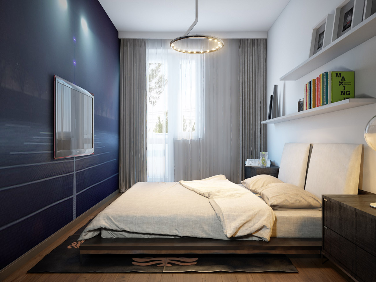 Design Camera Da Letto 13 Mq In Stile Moderno Foto Reali Come Arredare Una Stanza