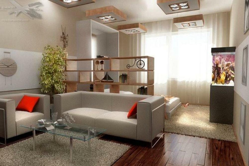 Zone de loisirs dans le bâtiment à plusieurs étages d'Odnushka