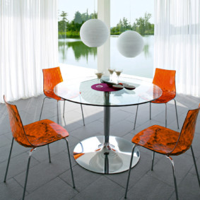 table sur une jambe pour l'intérieur des idées de cuisine