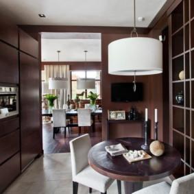 table sur une jambe pour les idées d'intérieur de cuisine