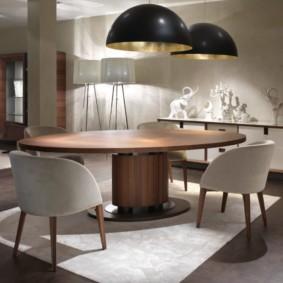 table à un pied pour les idées d'idées de cuisine