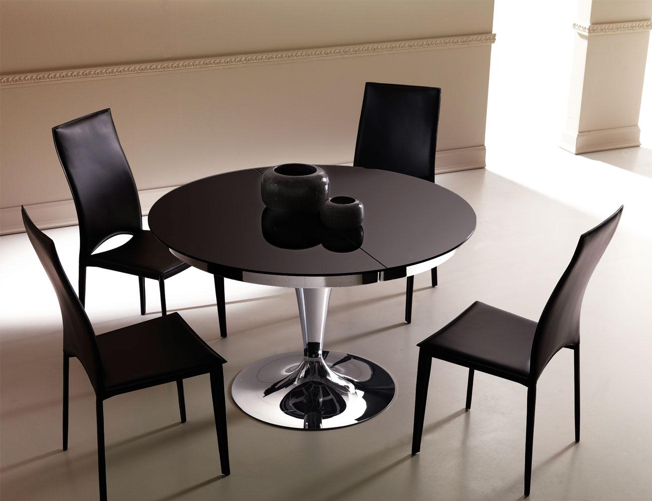 table sur une jambe pour la conception de photos de cuisine