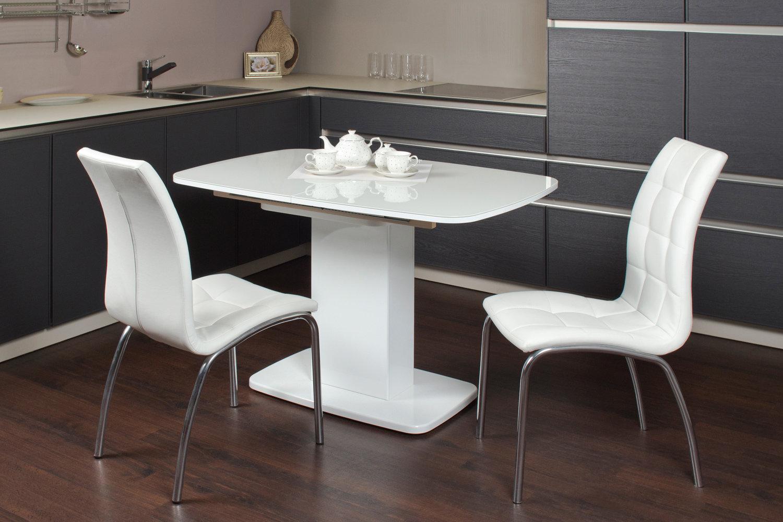 table sur pied pour cuisine moderne