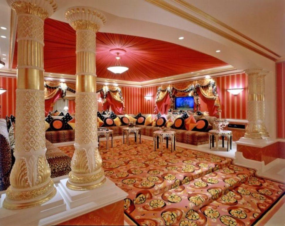 salon de style oriental