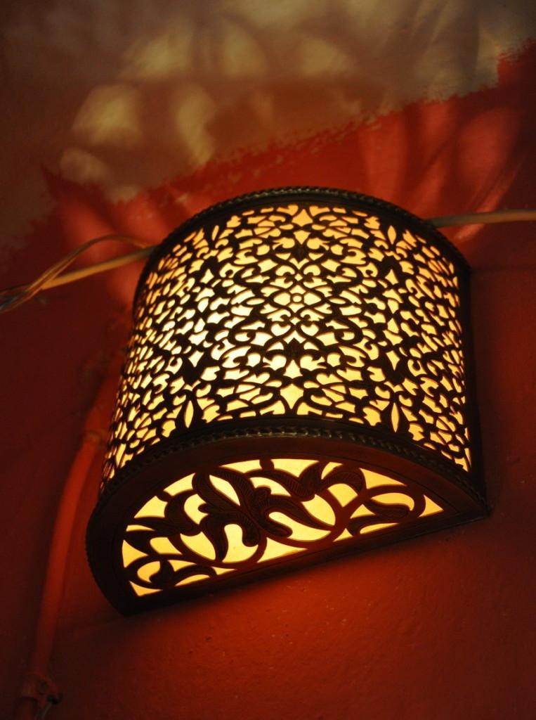 Applique orientale pour l'éclairage nocturne de l'intérieur de la chambre