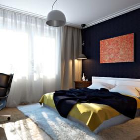 appliques dans la chambre au-dessus de l'intérieur des idées de lit