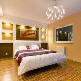appliques dans la chambre au-dessus du lit options de photo