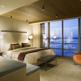 appliques dans la chambre au-dessus des options d'idées de lit