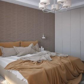 appliques dans la chambre au dessus du lit