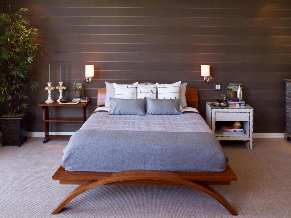 applique dans la conception de photo de chambre à coucher