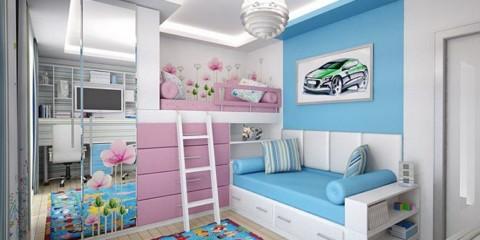 chambre d'enfants pour enfants hétérosexuels