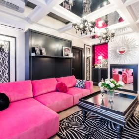 salon moderne dans les idées des appartements vues