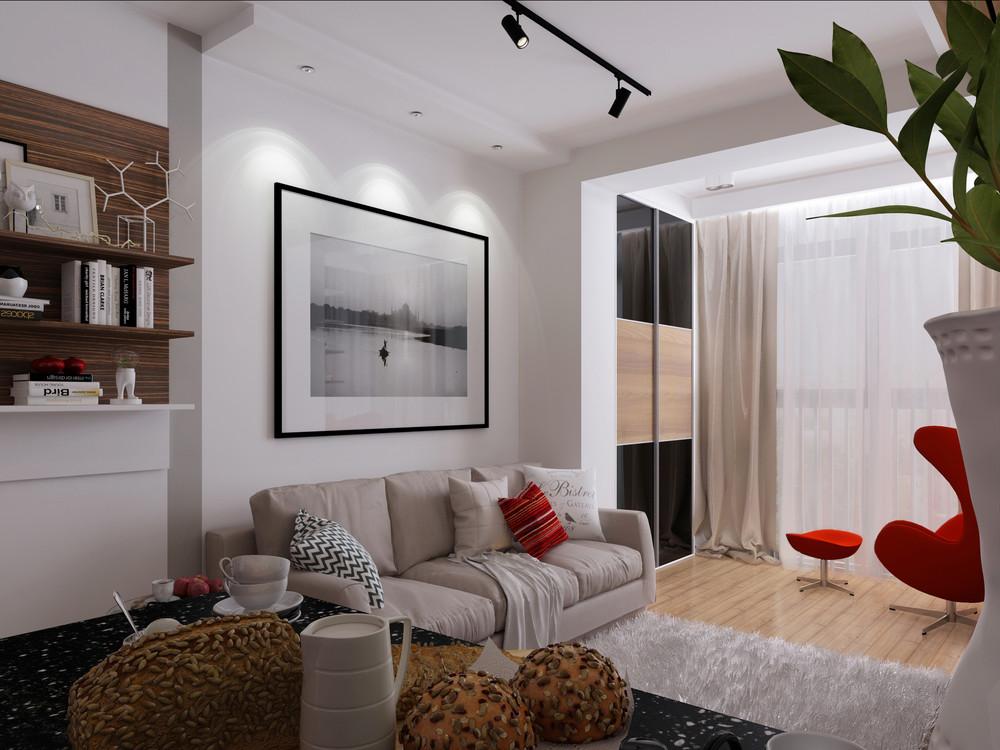 studio 30 m² photo intérieur