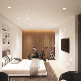 studio 30 m² intérieur