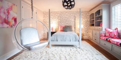 conception de la chambre pour une fille