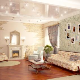 conception de mur dans un salon