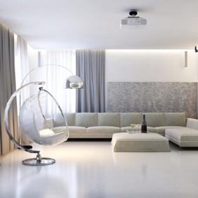 conception de mur dans une photo d'intérieur de salon