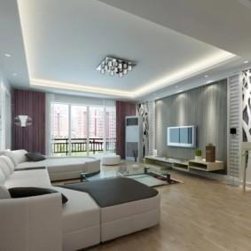 conception de mur dans un salon idées intérieures