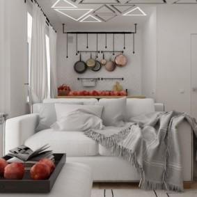 Appartement studio de 30 m² projet