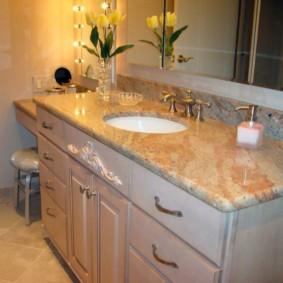 Nội thất phòng tắm phong cách cổ điển