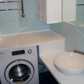 Máy giặt mặt bàn acrylic