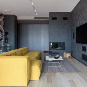 Sofa sáng của một hình thức trực tiếp
