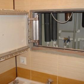 Trappe d'inspection pour équipement de plomberie