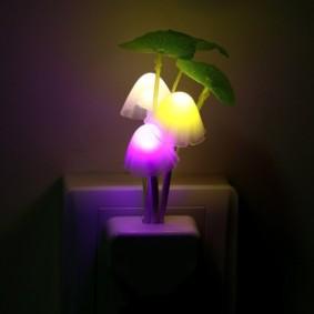 Lampe chinoise dans la sortie de la chambre