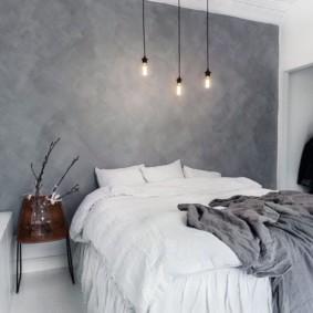 Chambre d'appoint murale gris