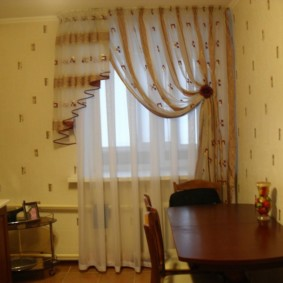 Table de salle à manger marron