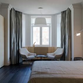 Design chambre avec baie vitrée