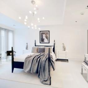 Grande chambre en blanc