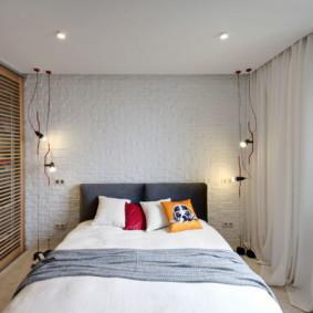 Ampoules électriques dans la chambre