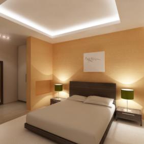 Éclairage LED pour un plafond à deux niveaux