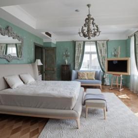 Chambre néoclassique