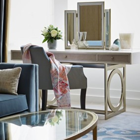 Table basse Art Nouveau