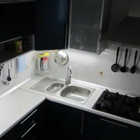 Mettre en valeur un espace de travail dans un coin cuisine
