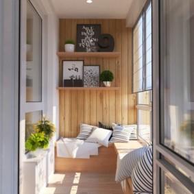 Décor de balcon bricolage