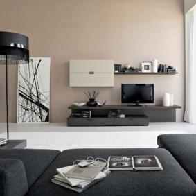Meubles d'armoire pour le hall dans le style du minimalisme