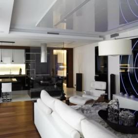 Salon de cuisine design futuriste