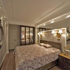 Surfaces en miroir dans la conception des chambres