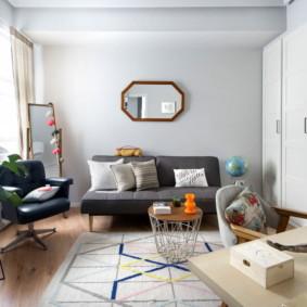 phòng khách màu sắc tươi sáng trang trí hình ảnh