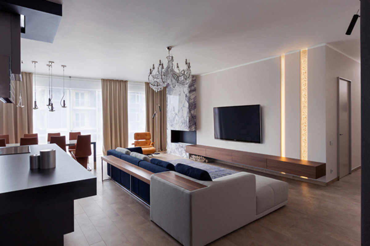 salon de style moderne