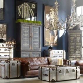Idées de décoration de salon de style anglais