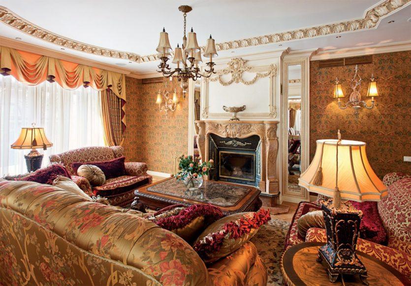 meubles de salon de style anglais