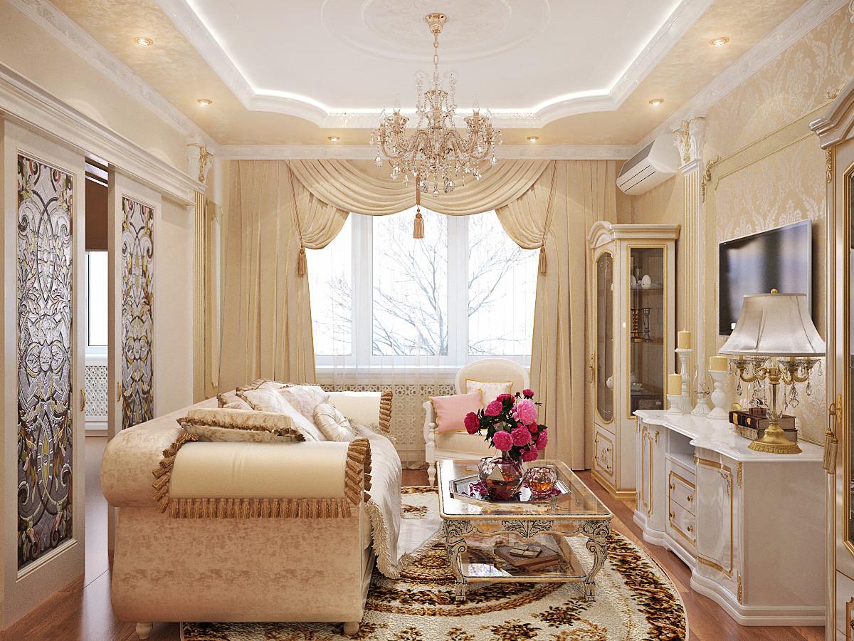 phòng khách phong cách cổ điển ý tưởng đẹp
