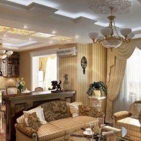 phong cách phòng khách cổ điển