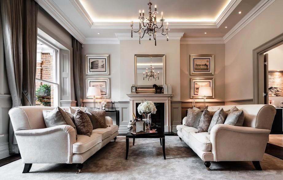 phòng khách phong cách cổ điển đẹp lựa chọn