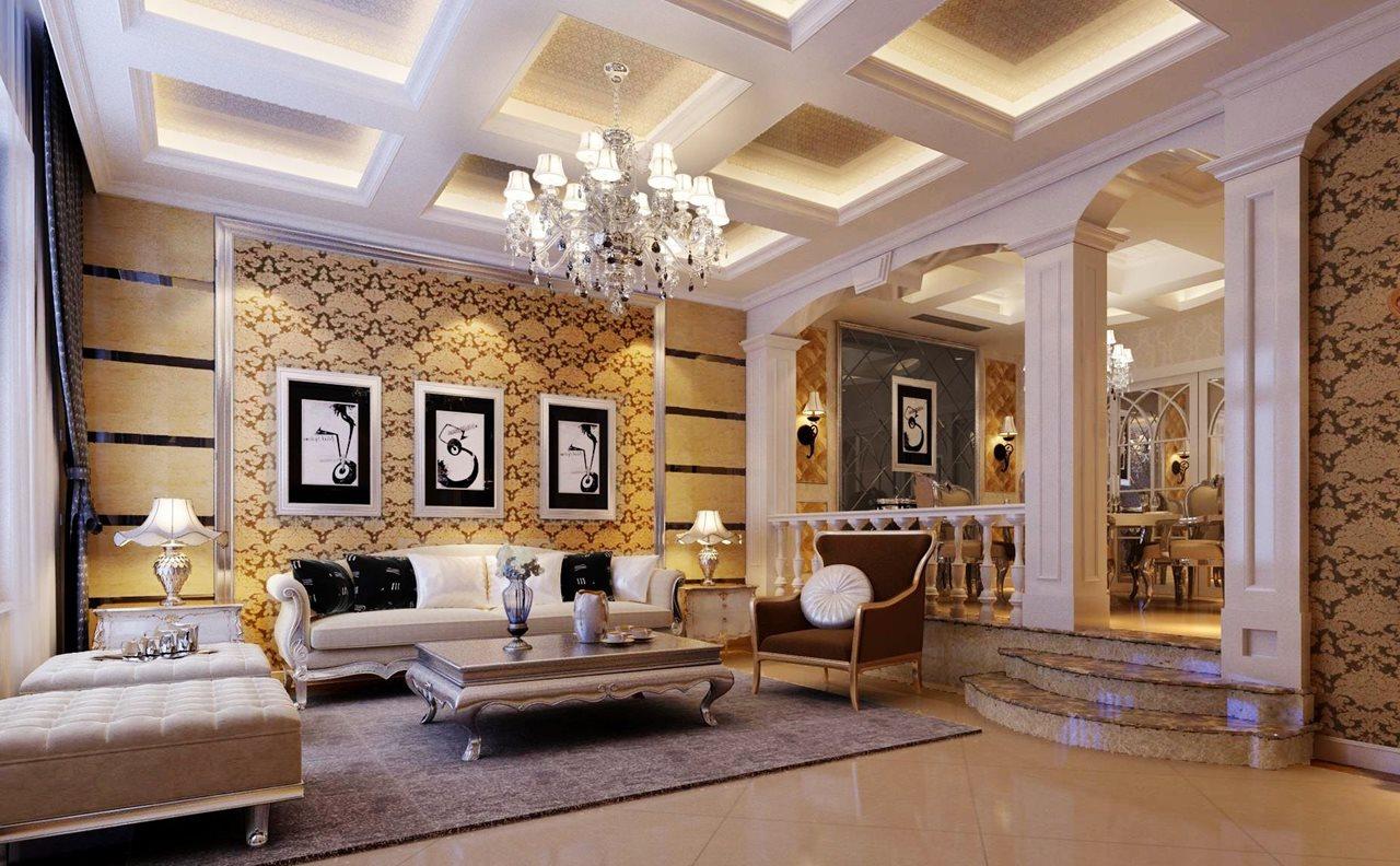 grande salle de style oriental