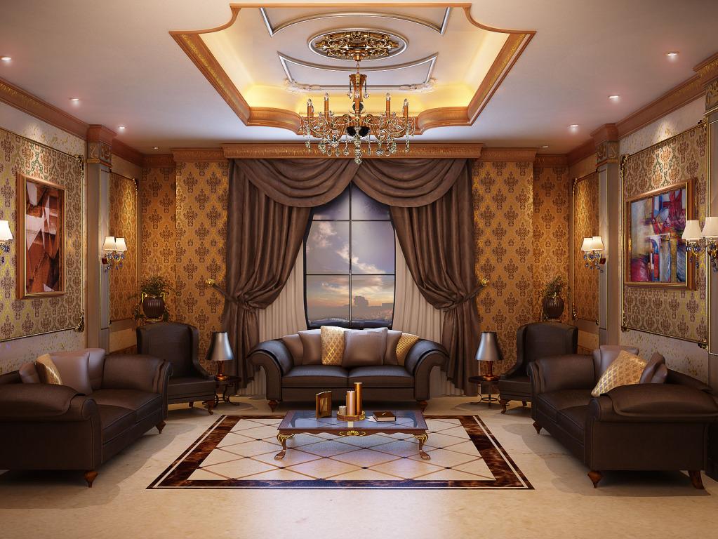 design d'intérieur dans un style oriental